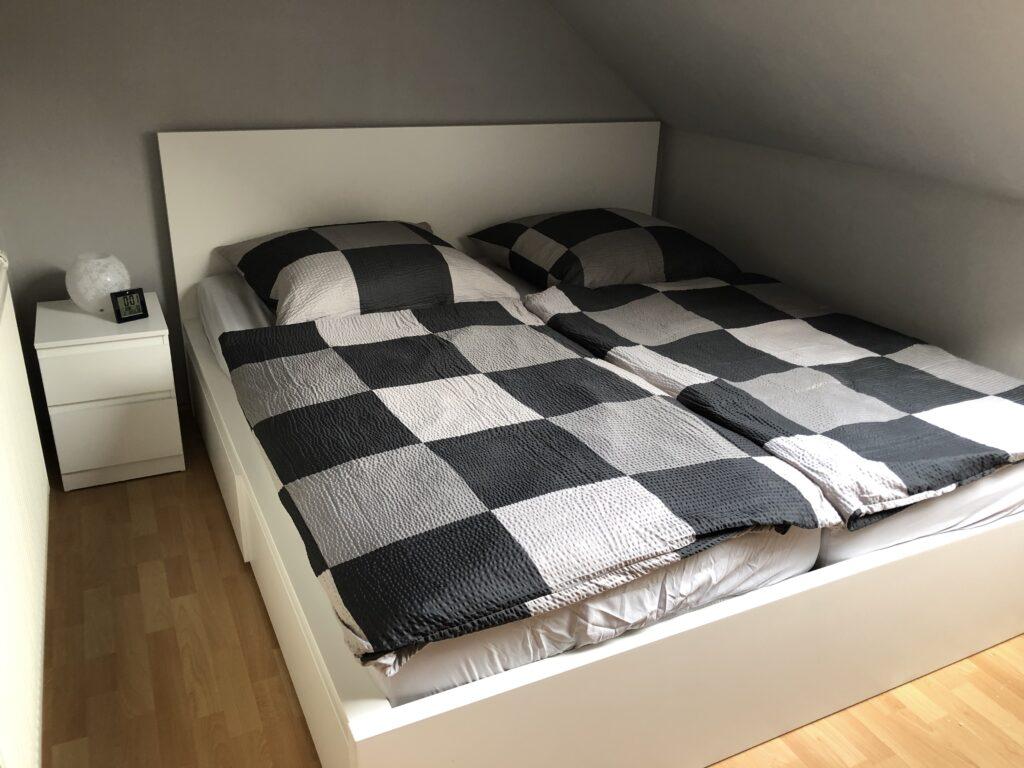 Schlafzimmer FeWo Heimathafen